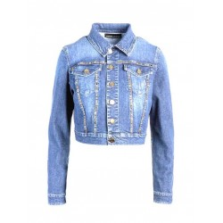 GIACCA IN DENIM BORCHIATO